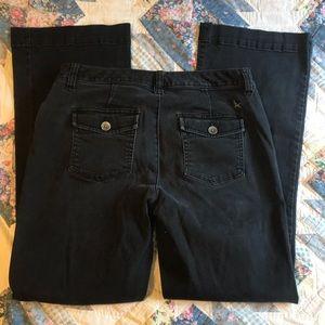 Eddie Bauer Curvy Fit Trouser Leg Jeans Size 10
